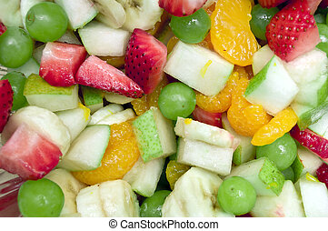 Variety Mix of Fruit Salad