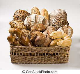 Variety of baked products