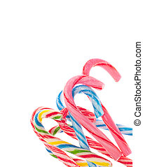 Variety of Candy Cane Candies