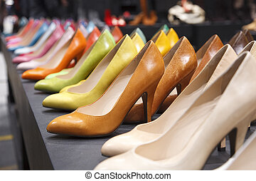 Variety of Colored Pumps