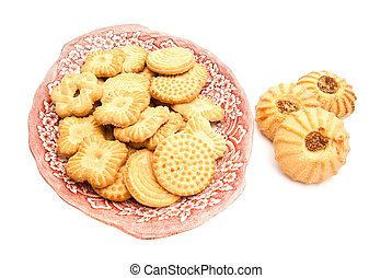 variety of cookies on a plate