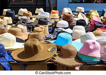 Variety of Sun Hats