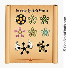 Variety of Tenrikyo Symbols