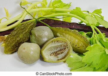 variety Thai vegetable