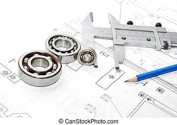 vario, herramientas, dibujo