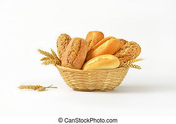 vario, in crosta, bread