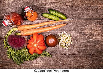 vario, verdura