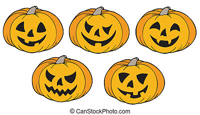 vario, zucche, halloween