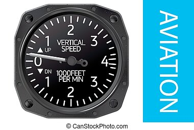 Variometer vector illustration
