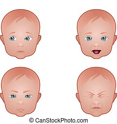 Various Baby Faces
