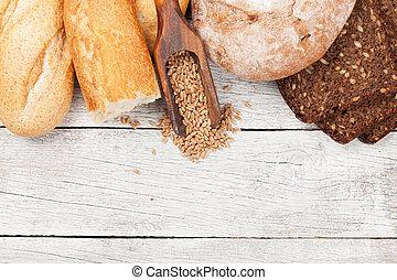 Various bread