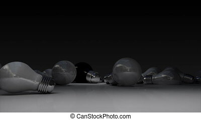 Various bulb light and turn on bulb light.(included alpha)