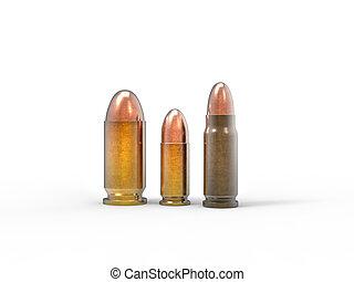Various bullets