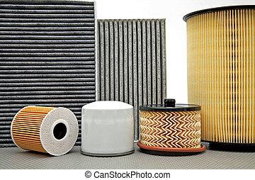 various car filters