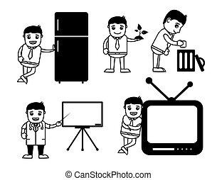 Various Cartoon Drawing Set