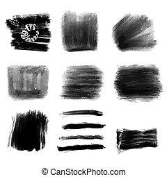 Various Chalk Strokes