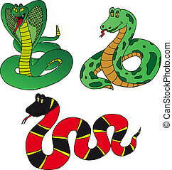 Various collection snake
