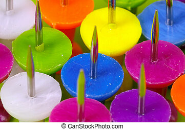 Tacks - Various Colored Tacks