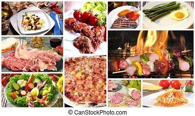 various delicious food - food collage including italian...