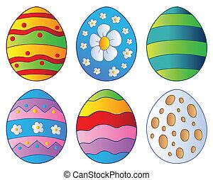 Various Easter eggs