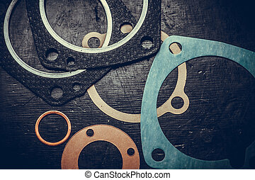 Various engine gaskets