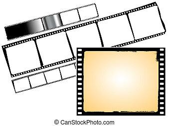 various film frames - vector
