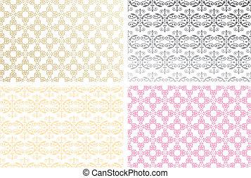 Various floral seamless pattern