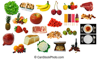Various Food and Drink Items - This is a page of various...
