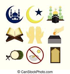 Various Islamic Illustration Design Set - Various Islamic...
