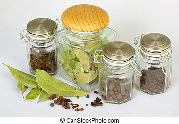 Various kinds of spices