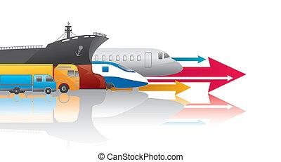 transportation - various kinds transportation.
