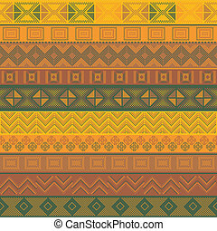 Various motifs in different color