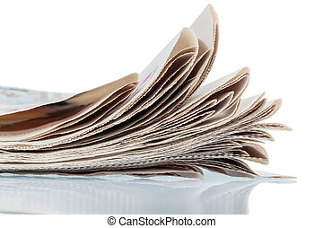 various newspapers - various magazines, symbol photo for...