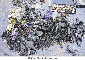 Various old electronics