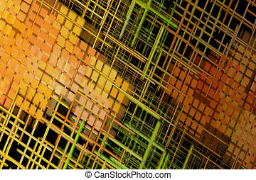 Abstract Background - Various Patterns and Colors - Abstract...