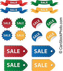 Various Sale Tags