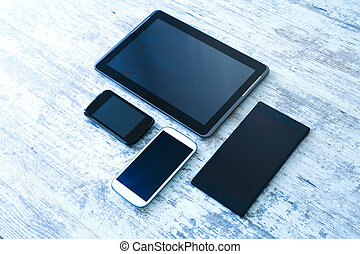 Various smartphones and Tablet PCs - Various smartphones and...