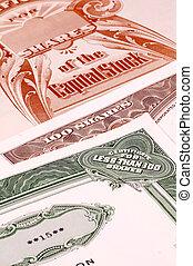 Stock Certificates - Various Stock Certificates