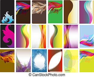 Various type of card designs