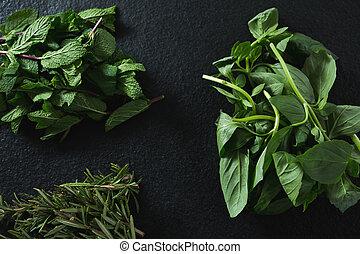 Various type of herbs