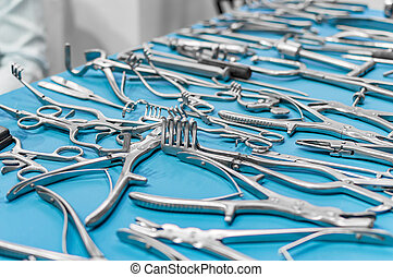 Various type of surgical tools