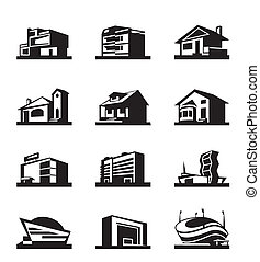 Various types of construction - vector illustration
