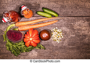 various vegetables