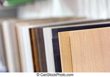 Various wood planks - Set of various wood planks