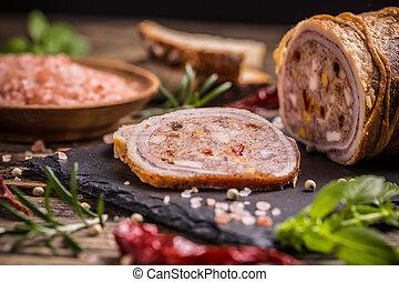 varkensvlees, rol