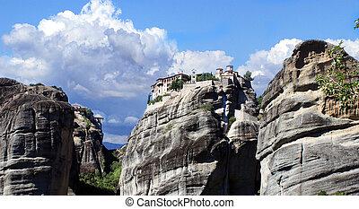 Varlaam Monastery in Meteora, Greece - Varlaam Monastery in ...