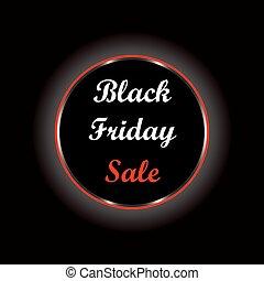 varm, fredag, svart, försäljning