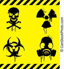 varning, signs.