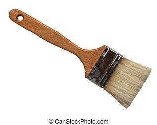 Artists' varnish brush used for applying damar varnish on oil paintings