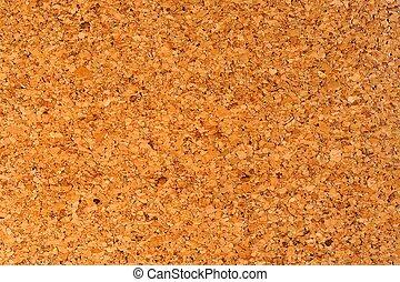 Varnished Cork Oak Bark Wood Textur